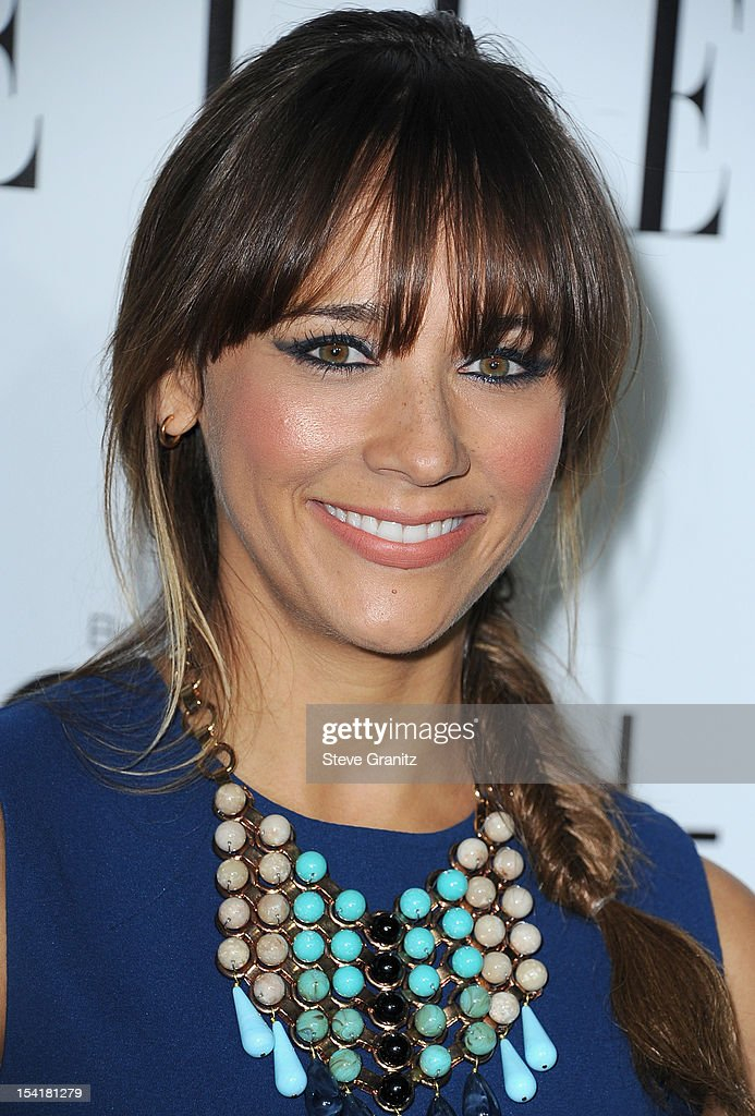 Actress Rashida Jones arrives at ELLE's 19th Annual Women In Hollywood Celebration at the Four Seasons Hotel on October 15 2012 in Beverly Hills...
