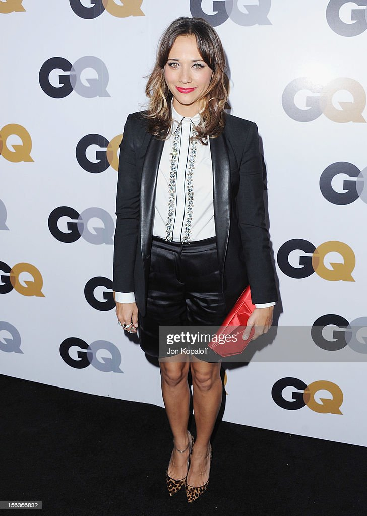 Actress Rashida Jones arrives at GQ Men Of The Year Party at Chateau Marmont on November 13, 2012 in Los Angeles, California.