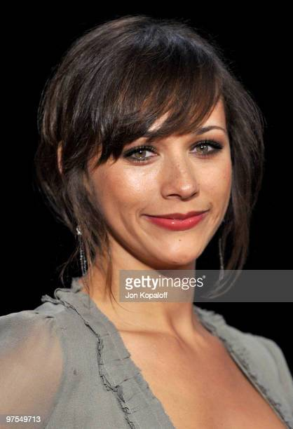 Actress Rashida Jones arrives at the 2010 Vanity Fair Oscar Party held at Sunset Tower on March 7 2010 in West Hollywood California