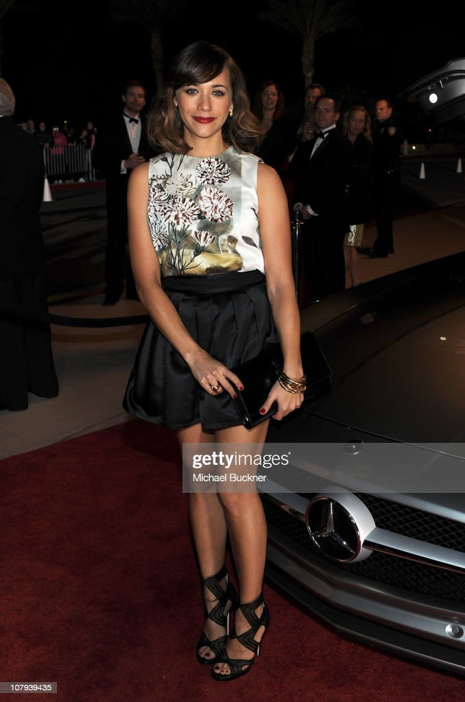 Actress Rashida Jones arrives at the 22nd Annual Palm Springs International Film Festival Awards Gala at the Palm Springs Convention Center on January 8, 2011 in Palm Springs, California.
