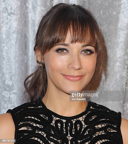 Actress Rashida Jones arrives at the 25th Annual IWMF Courage In Journalism Awards at The Beverly Hilton Hotel on October 28 2014 in Beverly Hills...