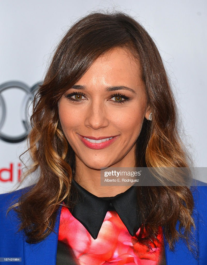 Actress Rashida Jones arrives to The Trevor Project's 'Trevor Live' event honoring singer Katy Perry at the Hollywood Palladium on December 2, 2012 in Hollywood, California.
