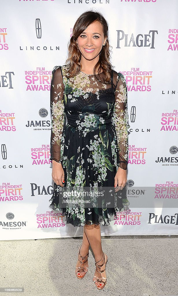 Actress Rashida Jones attends the 2013 Film Independent Filmmaker Grant And Spirit Awards Nominees Brunch at BOA Steakhouse on January 12, 2013 in West Hollywood, California.