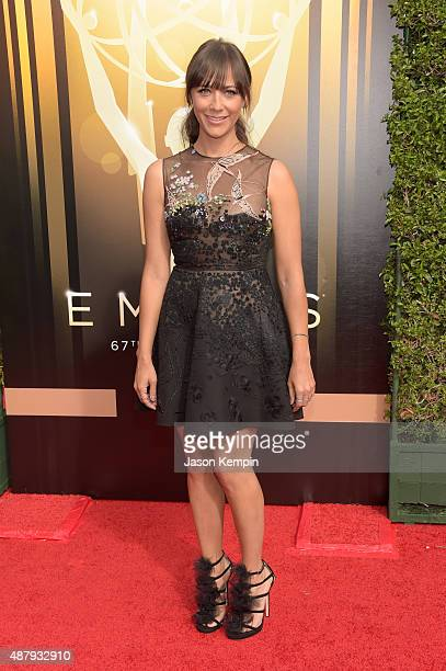 Actress Rashida Jones attends the 2015 Creative Arts Emmy Awards at Microsoft Theater on September 12 2015 in Los Angeles California