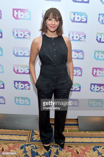 Actress Rashida Jones attends the 2016 TCA Turner Winter Press Tour Presentation at the Langham Hotel on January 7 2016 in Pasadena California...