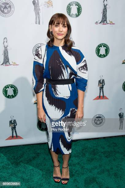 Actress Rashida Jones attends the 2017 Turtle Ball at The Bowery Hotel on April 17 2017 in New York City
