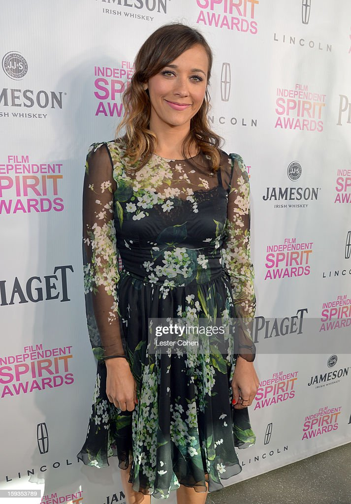 Actress Rashida Jones attends the Film Independent Filmmaker Grant And Spirit Awards Nominees Brunch at BOA Steakhouse on January 12, 2013 in West Hollywood, California.