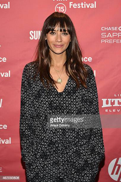 Actress Rashida Jones attends the 'Hot Girls Wanted' Premiere during the 2015 Sundance Film Festival on January 24 2015 in Park City Utah