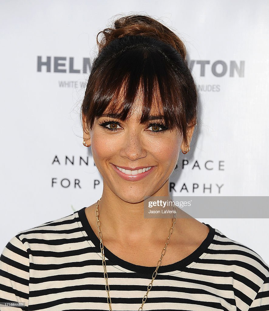 Actress <a gi-track='captionPersonalityLinkClicked' href=/galleries/search?phrase=Rashida+Jones&family=editorial&specificpeople=2133481 ng-click='$event.stopPropagation()'>Rashida Jones</a> attends the opening of 'Helmut Newton: White Women - Sleepless Nights - Big Nudes' at Annenberg Space For Photography on June 27, 2013 in Century City, California.