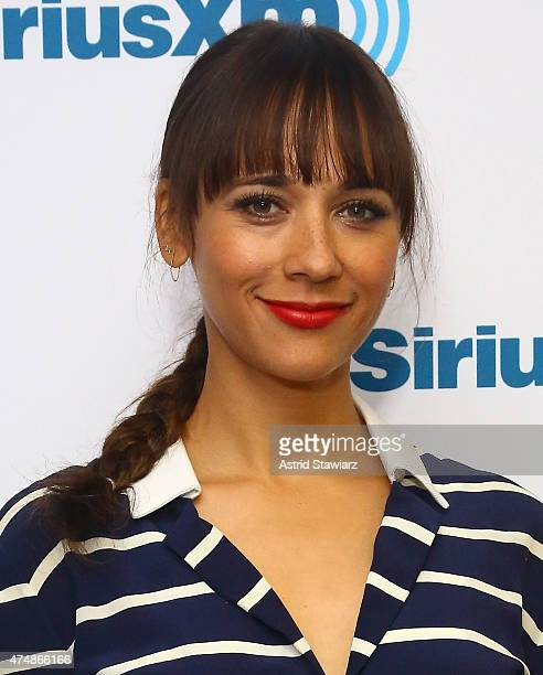 Actress Rashida Jones visits the SiriusXM Studios on May 27 2015 in New York City