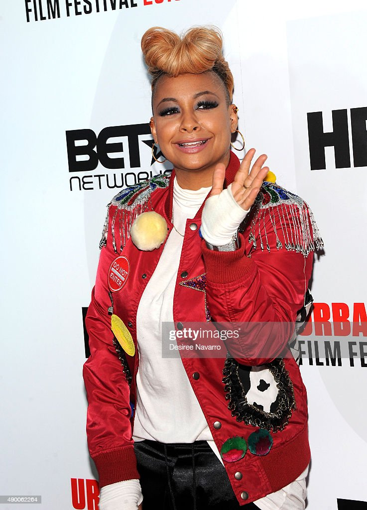 Actress Raven-Symone attends 2015 Urbanworld Film Festival at AMC Empire 25 theater on September 25, 2015 in New York City.