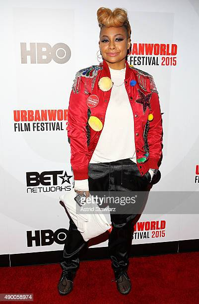 Actress RavenSymone attends the 2015 Urbanworld Film Festival at AMC Empire 25 theater on September 25 2015 in New York City