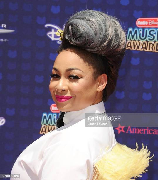 Actress RavenSymone attends the 2017 Radio Disney Music Awards at Microsoft Theater on April 29 2017 in Los Angeles California
