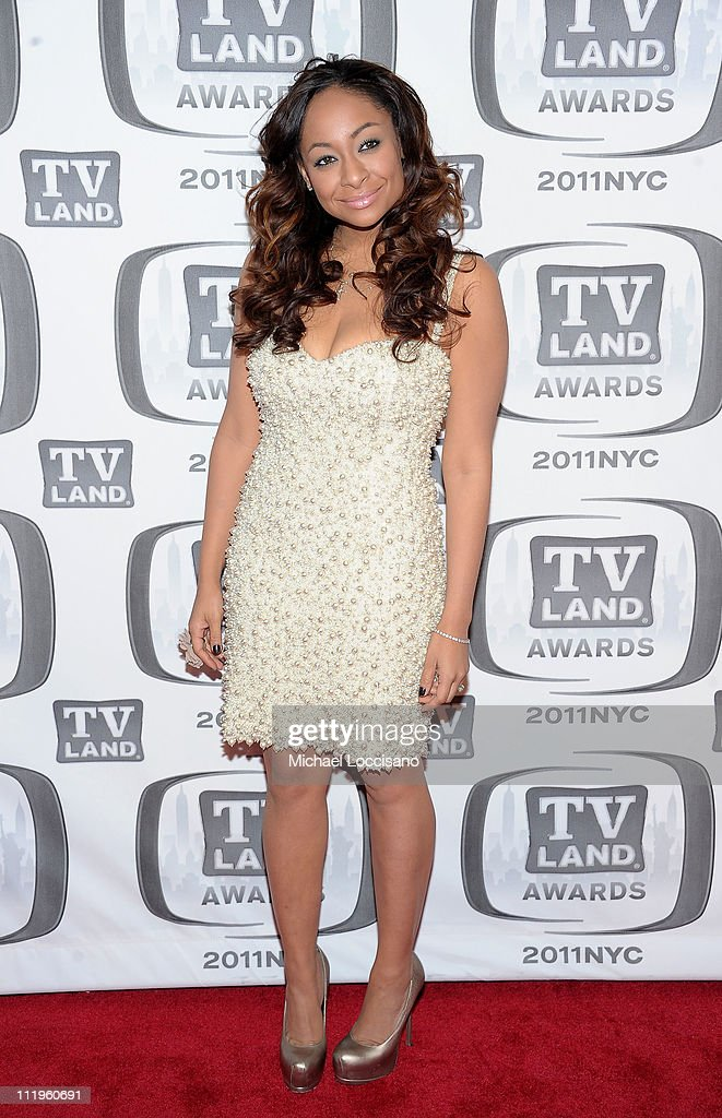 Actress Raven-Symone attends the 9th Annual TV Land Awards at the Javits Center on April 10, 2011 in New York City.