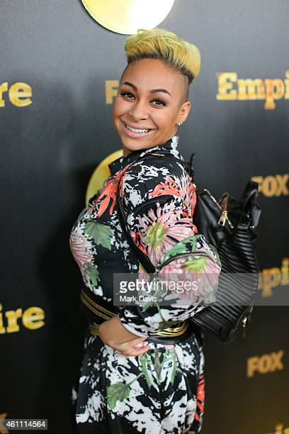 Actress RavenSymone attends the premiere of Fox's 'Empire' held at ArcLight Cinemas Cinerama Dome on January 6 2015 in Hollywood California