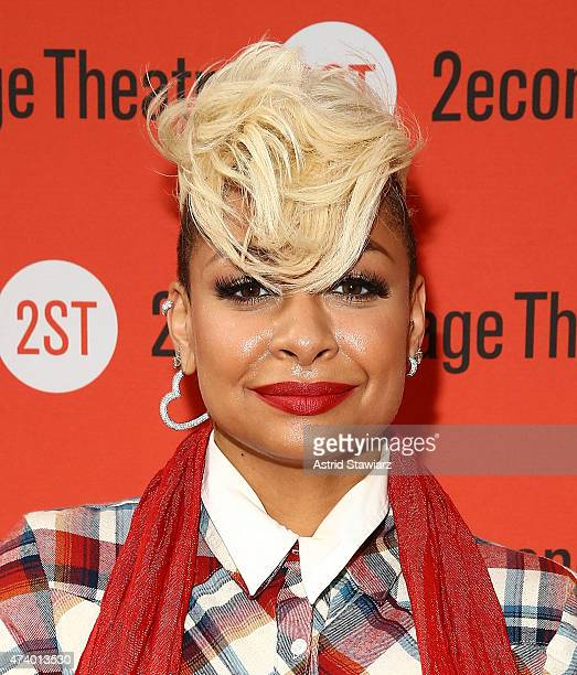 Actress RavenSymone attends 'The Way We Get By' opening night arrivals at Second Stage Theatre on May 19 2015 in New York City