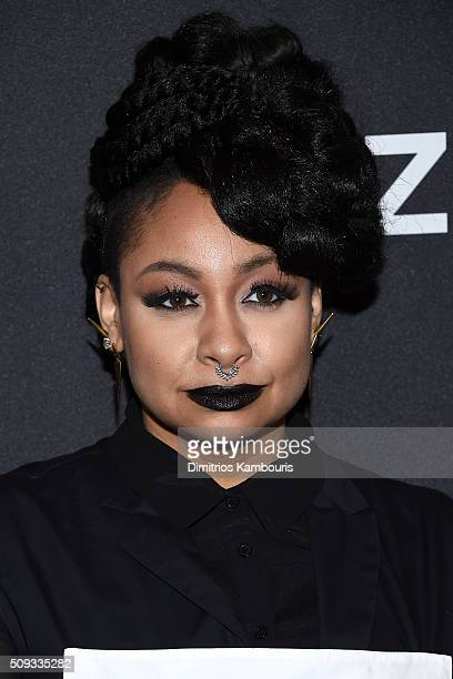 Actress RavenSymone attends the 'Zoolander 2' World Premiere at Alice Tully Hall on February 9 2016 in New York City