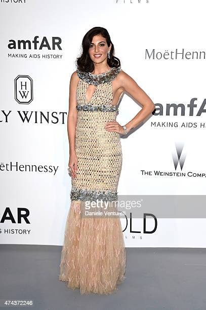 Actress Razane Jammal attends amfAR's 22nd Cinema Against AIDS Gala Presented By Bold Films And Harry Winston at Hotel du CapEdenRoc on May 21 2015...