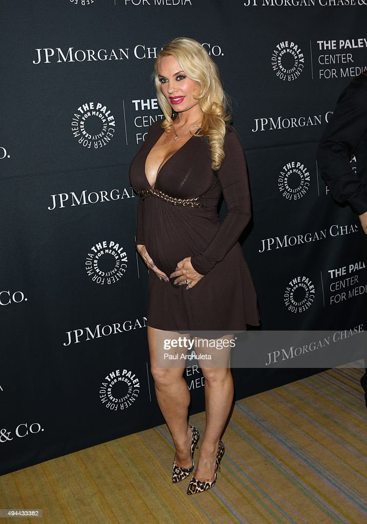 Actress / Reality TV Personality Coco Austin attends the Paley Center For Media's Tribute To AfricanAmerican Achievements In Television at the...
