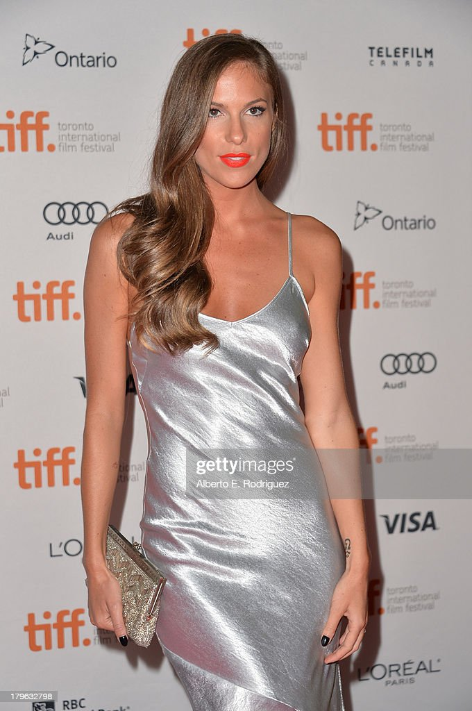 Actress Reanin Johannink arrives at the 'All Cheerleaders Die' premiere during the 2013 Toronto International Film Festival at Ryerson Theatre on...
