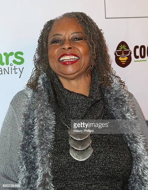 Actress Reatha Grey arrives at eZWayCares Community Santa Toy Drive on December 18 2016 in Los Angeles California