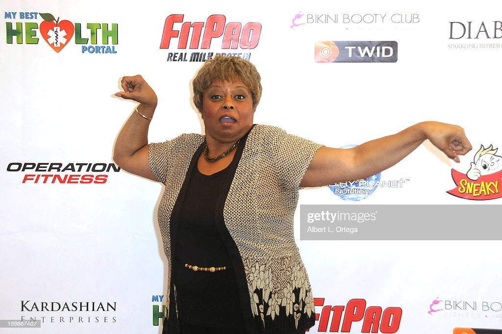 Actress Reatha Grey participates in the Red Carpet Health Expo held at The Vitamin Shoppe on January 12, 2013 in Los Angeles, California.