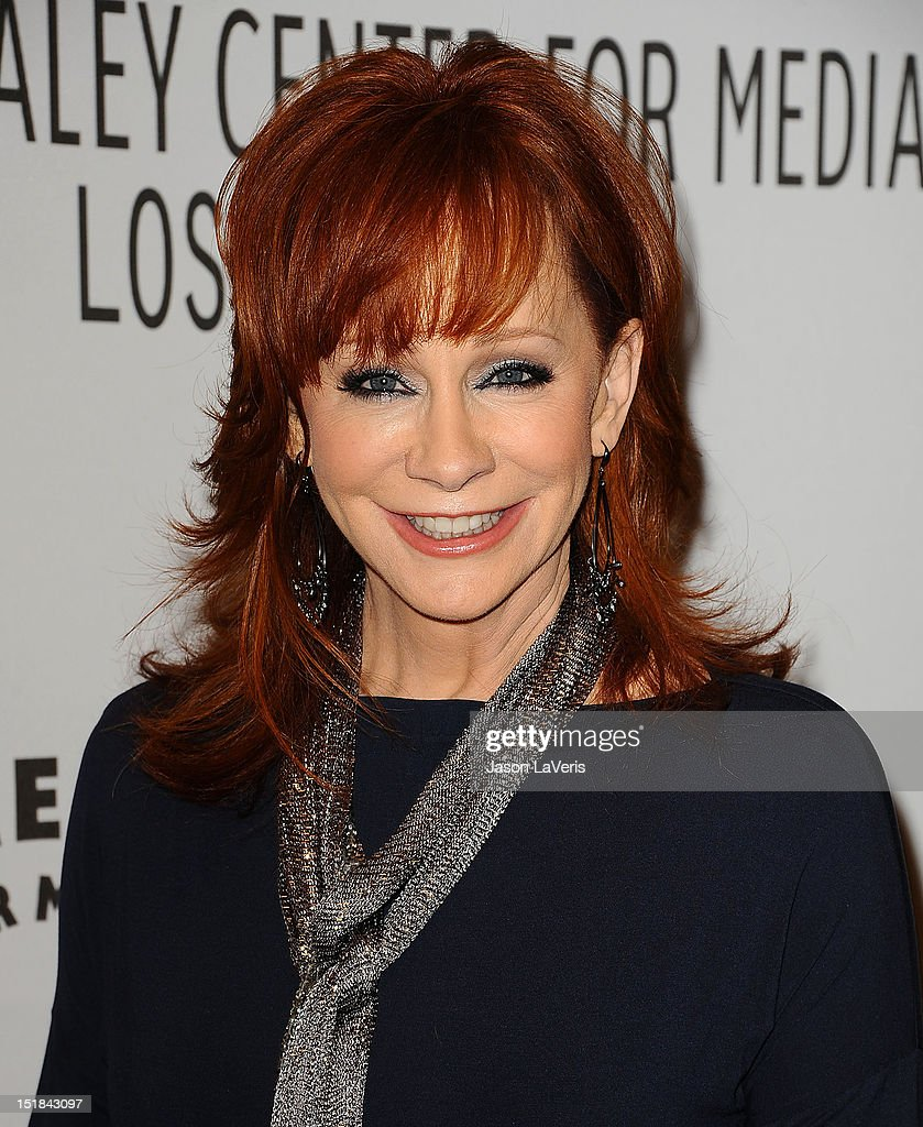Actress <a gi-track='captionPersonalityLinkClicked' href=/galleries/search?phrase=Reba+McEntire&family=editorial&specificpeople=202959 ng-click='$event.stopPropagation()'>Reba McEntire</a> attends the ABC fall preview party at The Paley Center for Media on September 11, 2012 in Beverly Hills, California.