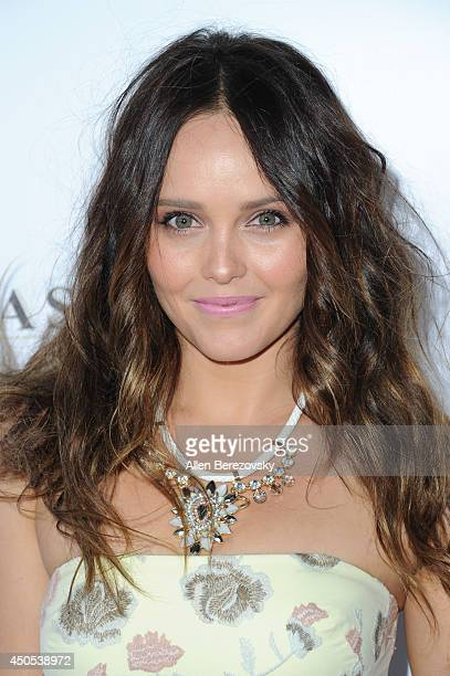 Actress Rebecca Breeds arrives at The Ledger Family and Australians In Film's 6th anniversary of The Scholarship and The Legacy of Heath Ledger at...