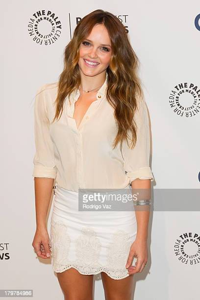 Actress Rebecca Breeds attends PaleyFestPreviews Fall TV CBS' 'We Are Men' at The Paley Center for Media on September 6 2013 in Beverly Hills...