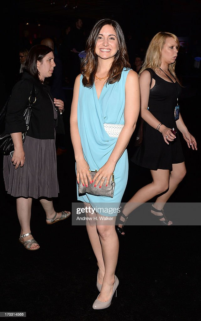 Actress Rebecca Buller attends the 'Man Of Steel' world premiere after party at Skylight at Moynihan Station on June 10, 2013 in New York City.
