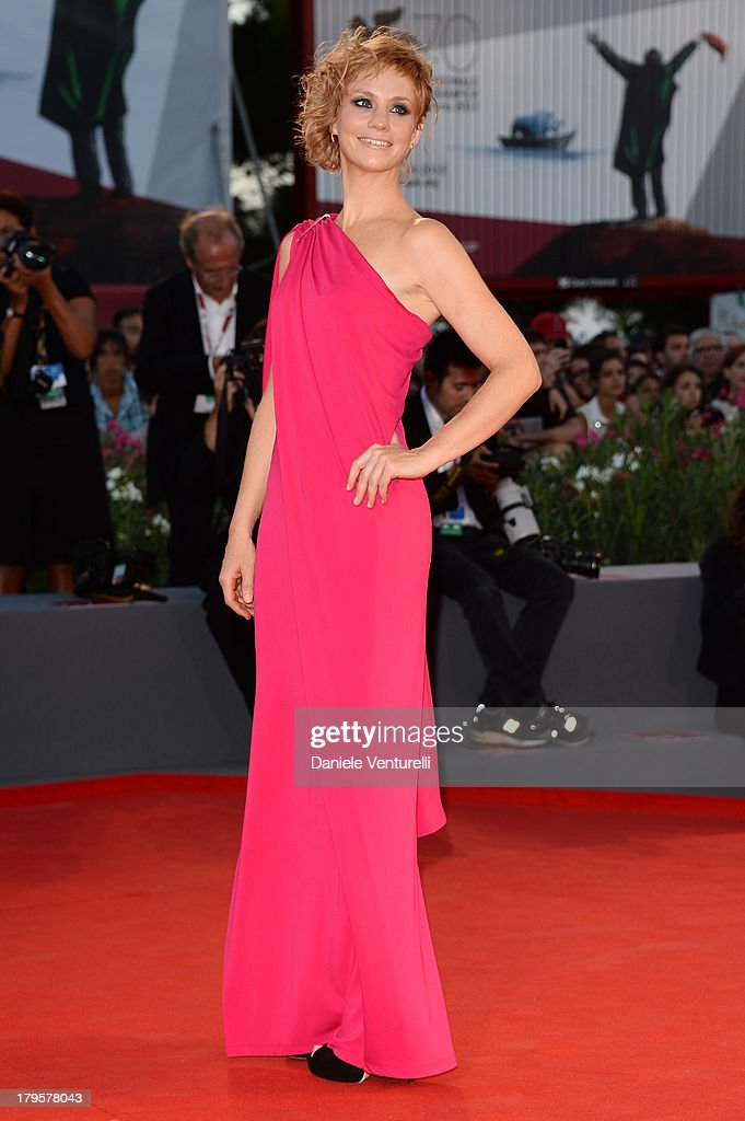 Actress Rebecca Convenant attends 'La Jalousie' Premiere during the 70th Venice International Film Festival at the Sala Grande on September 5, 2013 in Venice, Italy.
