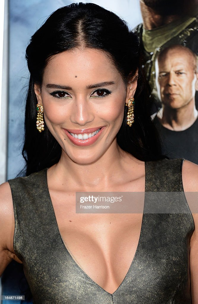 Actress Rebecca Da Costa arrives at the premiere of Paramount Pictures' 'G.I. Joe: Retaliation' at TCL Chinese Theatre on March 28, 2013 in Hollywood, California.