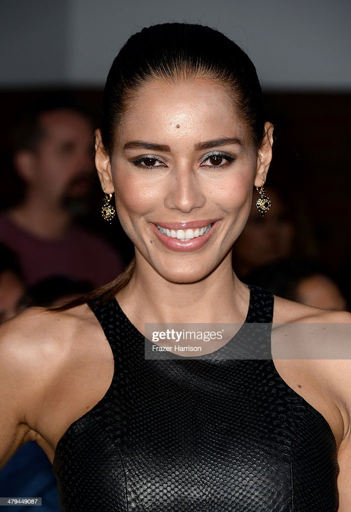 Actress Rebecca Da Costa arrives at the premiere of Summit Entertainment's 'Divergent' at the Regency Bruin Theatre on March 18, 2014 in Los Angeles, California.