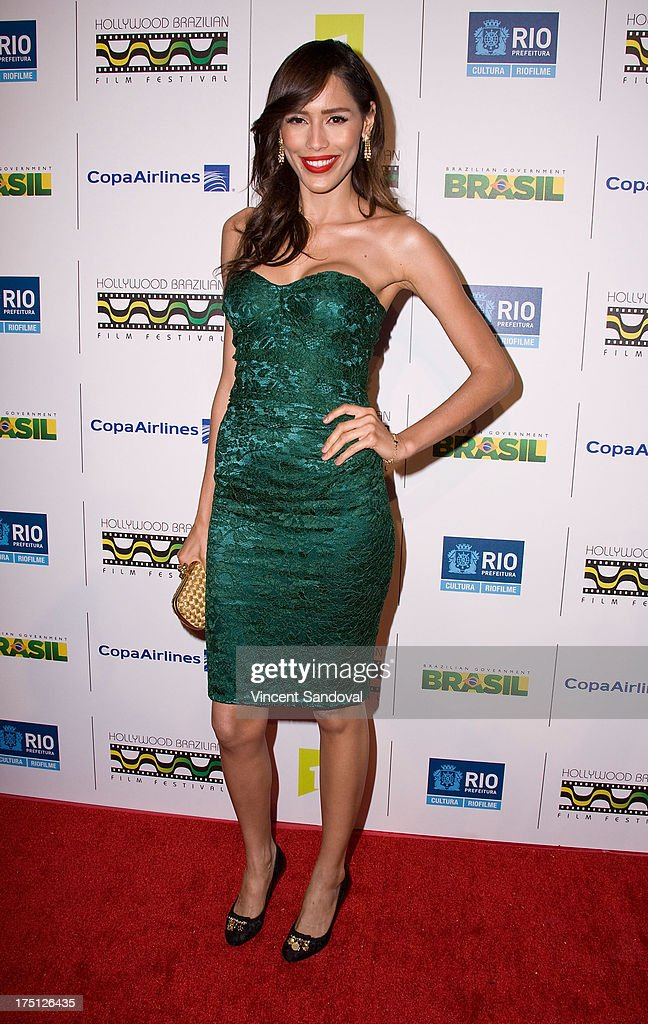 Actress Rebecca Da Costa attends the 5th annual Hollywood Brazilian Film Festival at the Egyptian Theatre on July 31, 2013 in Hollywood, California.