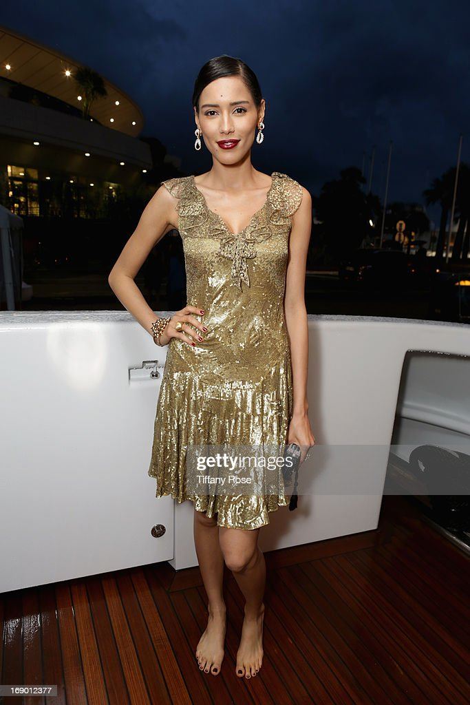 Actress Rebecca Da Costa attends the Zero Theorem Party Hosted by Terry Gilliam The 66th Annual Cannes Film Festival at Torch at Vegaluna Beach Club on May 18, 2013 in Cannes, France.