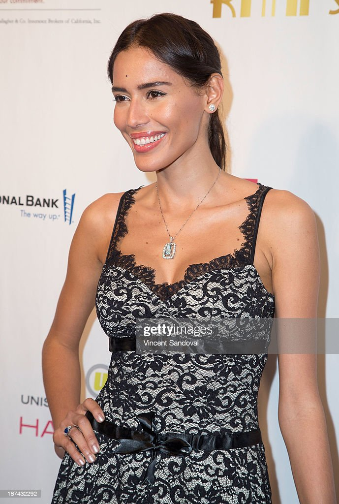 Actress Rebecca Da Costa attends YWCA greater Los Angeles hosts The Rhapsody Ball fundraiser at Beverly Hills Hotel on November 8, 2013 in Beverly Hills, California.