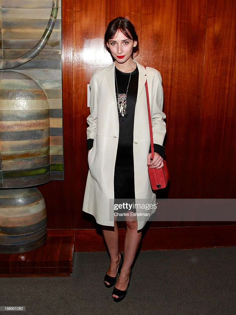 Actress Rebecca Dayan attends 'The Impossible' screening at the Museum of Art and Design on December 12, 2012 in New York City.