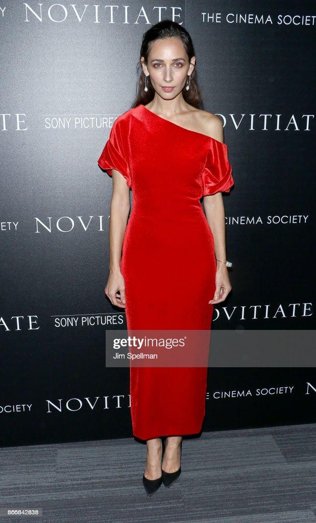 "Miu Miu & The Cinema Society Host A Screening Of Sony Pictures Classics' ""Novitiate"" - Arrivals"