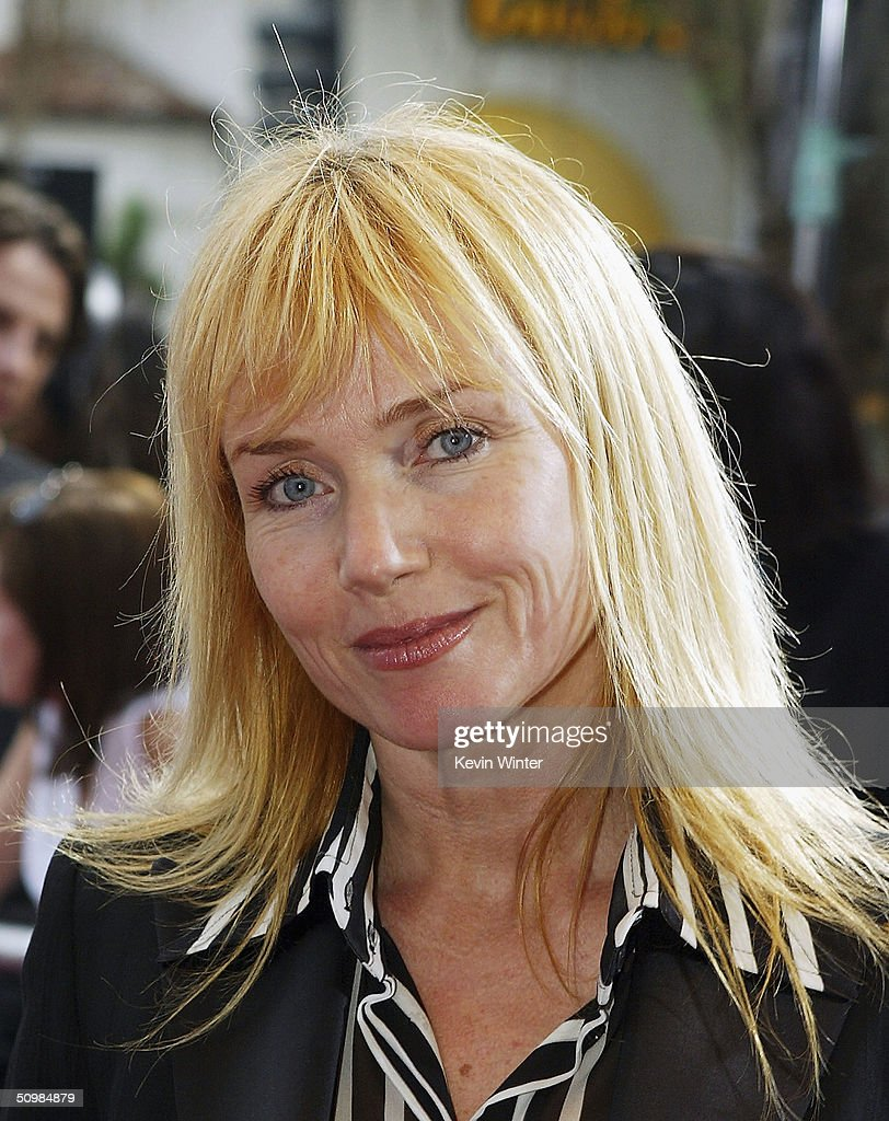 Actress Rebecca De Mornay arrives at the premiere of New Lines' 'The Notebook' on June 21, 2004 at the Village Theatre, in Los Angeles, California.