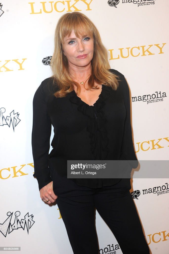 Actress Rebecca De Mornay arrives for the Premiere Of Magnolia Pictures' 'Lucky' held at Linwood Dunn Theater on September 26, 2017 in Los Angeles, California.