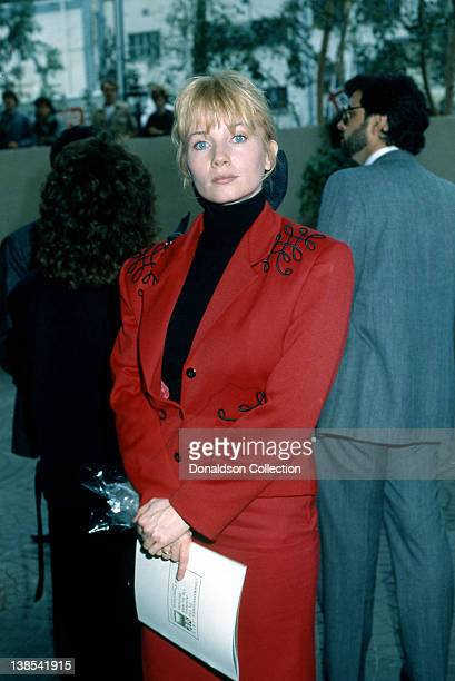 Actress Rebecca De Mornay attends an event in March 1988 in Los Angeles California