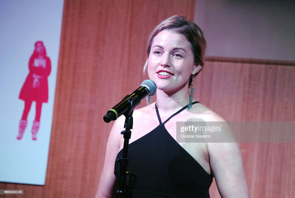 Actress Rebecca Faulkenberry performs during 'Groundhog Day The Musical' signing and performance event at Barnes & Noble, 86th & Lexington on May 19, 2017 in New York City.
