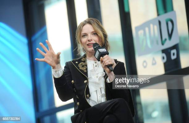 Actress Rebecca Ferguson attends Build Series to discuss 'Life' at Build Studio on March 20 2017 in New York City