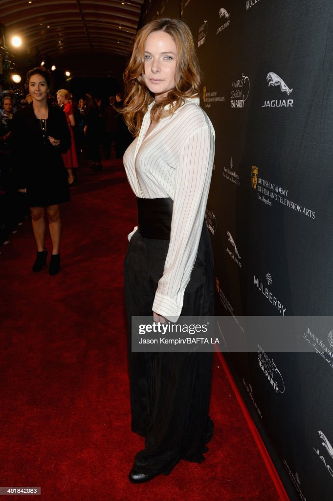 Actress Rebecca Ferguson attends the BAFTA LA 2014 Awards Season Tea Party at the Four Seasons Hotel Los Angeles at Beverly Hills on January 11, 2014 in Beverly Hills, California.