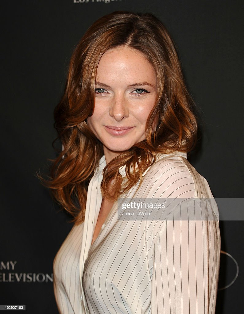 Actress Rebecca Ferguson attends the BAFTA LA 2014 awards season tea party at Four Seasons Hotel Los Angeles at Beverly Hills on January 11, 2014 in Beverly Hills, California.