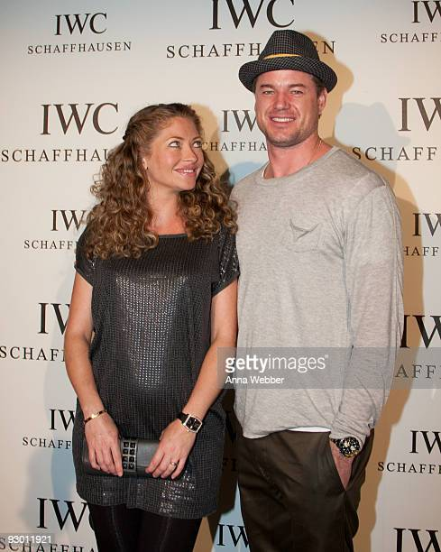 Actress Rebecca Gayheart and Actor Eric Dane attend IWC Michael Muller Watch Collection Launch Party at Milk Studios on November 11 2009 in Hollywood...