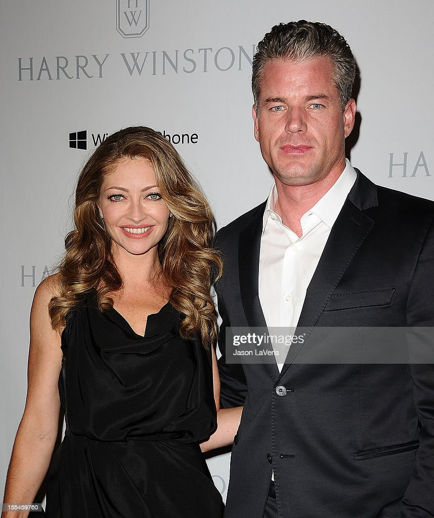 Actress Rebecca Gayheart and actor Eric Dane attend the 1st annual Baby2Baby gala at Book Bindery on November 3, 2012 in Culver City, California.