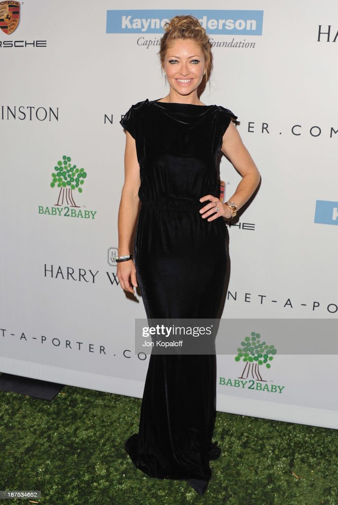 Actress <a gi-track='captionPersonalityLinkClicked' href=/galleries/search?phrase=Rebecca+Gayheart&family=editorial&specificpeople=204784 ng-click='$event.stopPropagation()'>Rebecca Gayheart</a> arrives at the 2nd Annual Baby2Baby Gala at The Book Bindery on November 9, 2013 in Culver City, California.