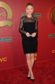 Actress Rebecca Gayheart arrives at the QVC 5th Annual Red Carpet Style event at The Four Seasons Hotel on February 28 2014 in Beverly Hills...