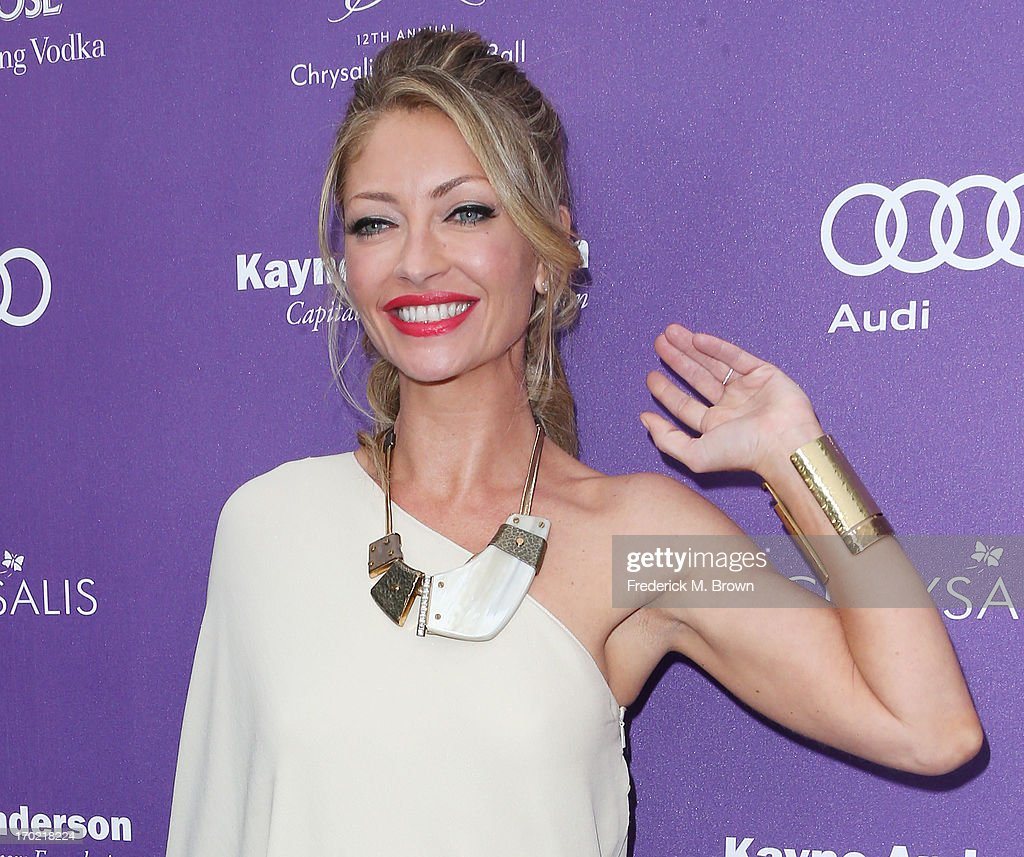 Actress Rebecca Gayheart attends the 12th Annual Chrysalis Butterfly Ball on June 8, 2013 in Los Angeles, California.